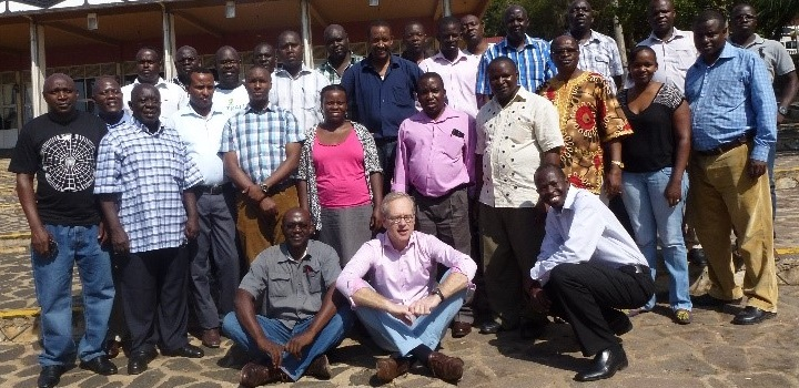 Participants who attended the recent call for proposal write-shop in Uganda
